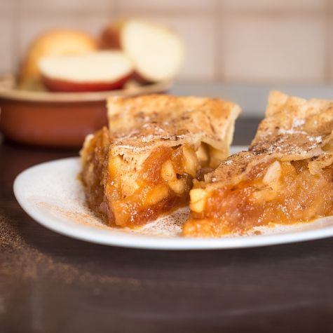 Placinta cu mere caramelizate